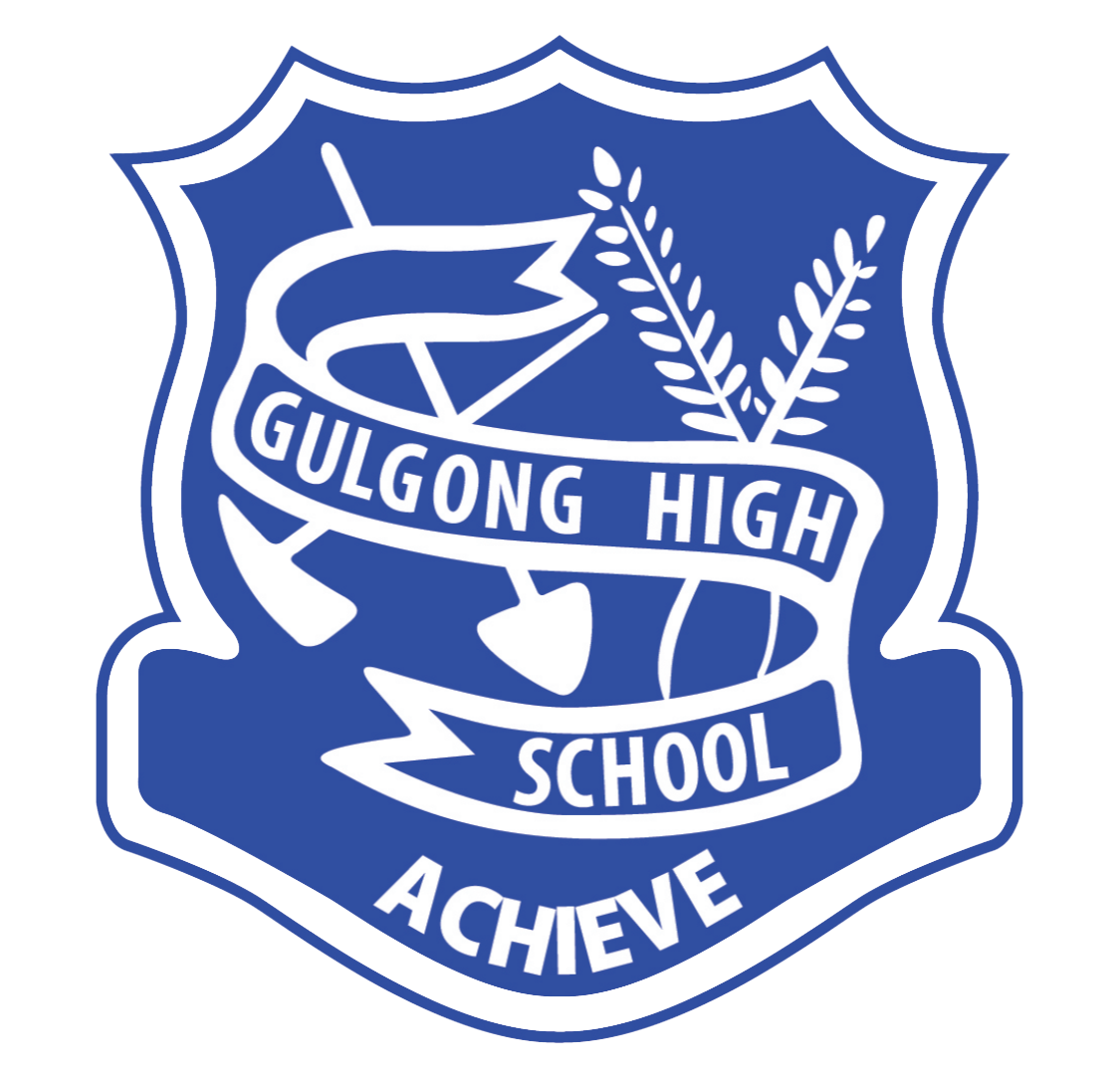 Gulgong High School logo